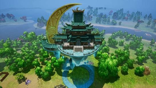 国风建造经营游戏《天神镇》 全新预告片公开 定档7月15日登陆Steam
