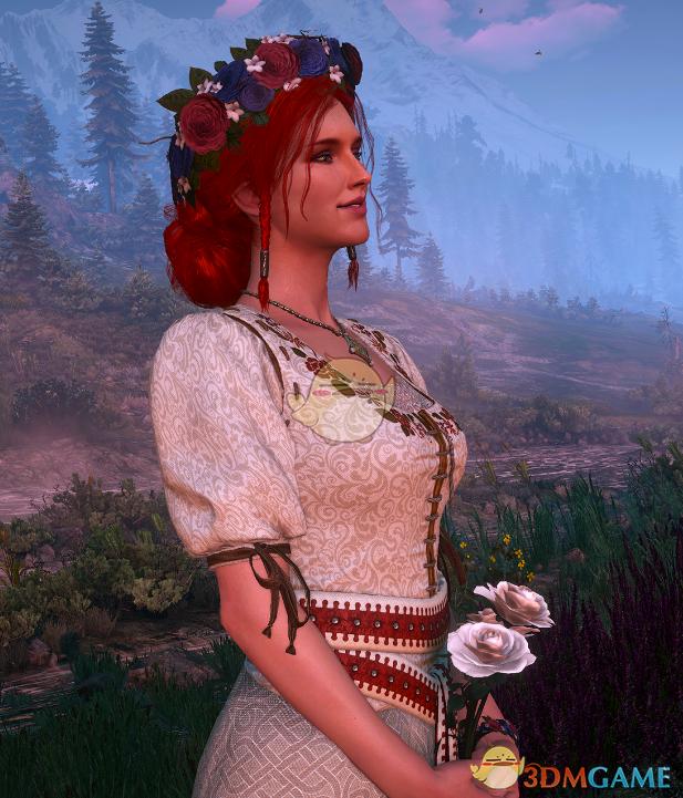 《巫师3:狂猎》特莉丝漂亮裙子MOD