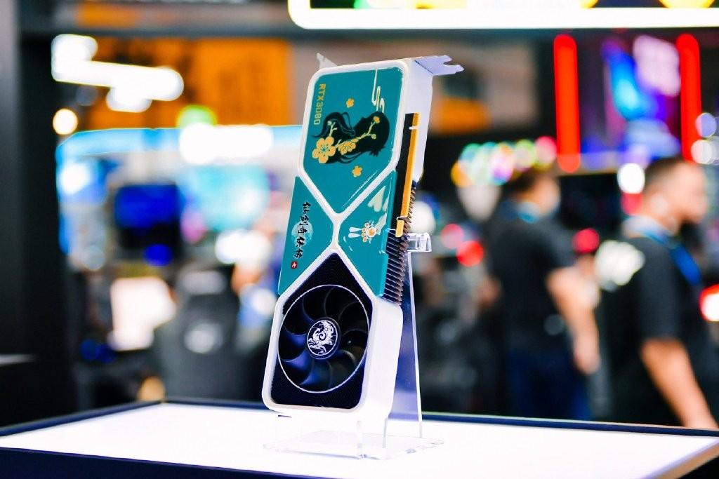 英伟达发布仙剑7主题定制版RTX3080显卡 绝美侧颜