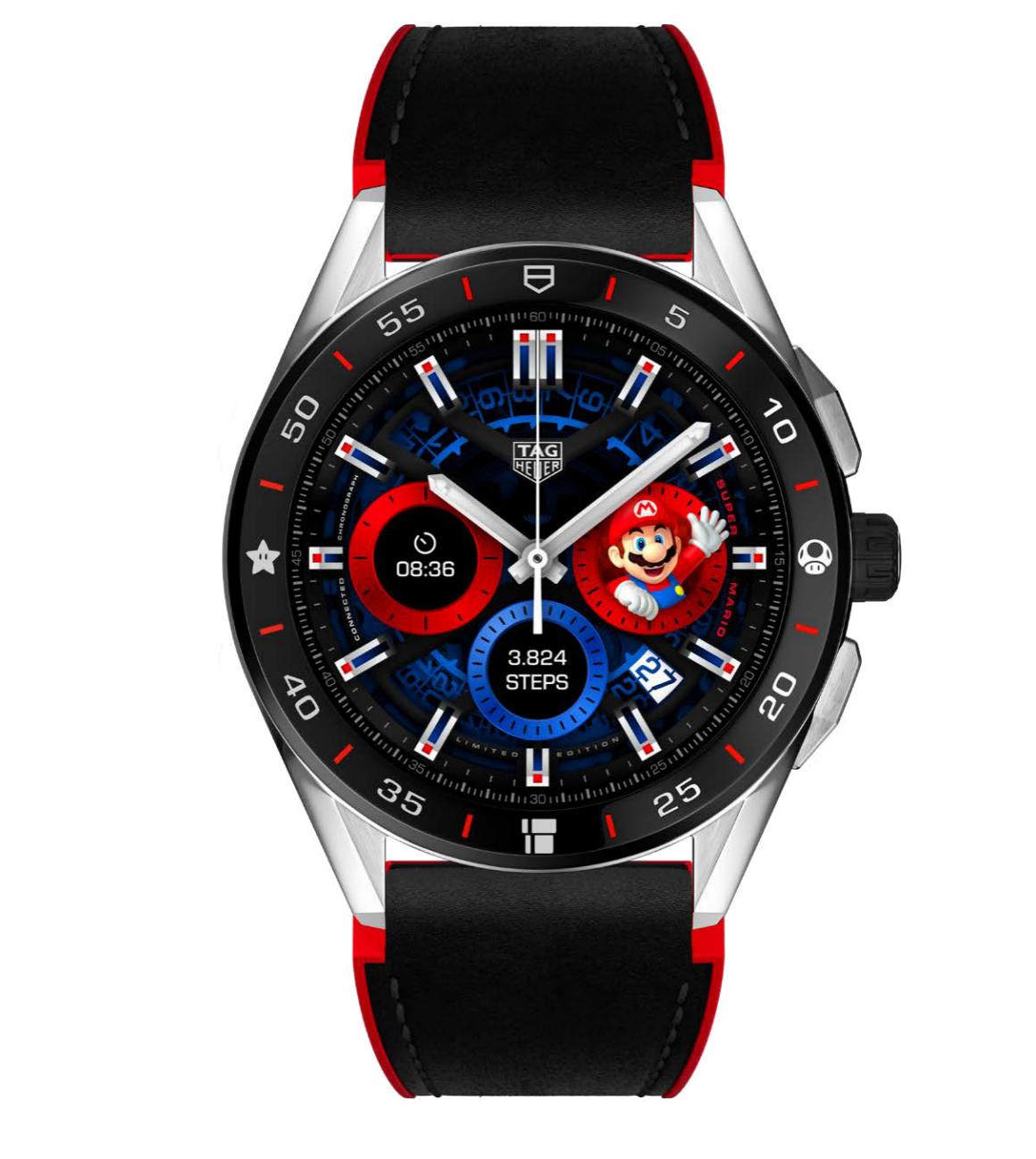泰格豪雅与任天堂跨界合作推出 推出超级马里奥主题限量款联名腕表