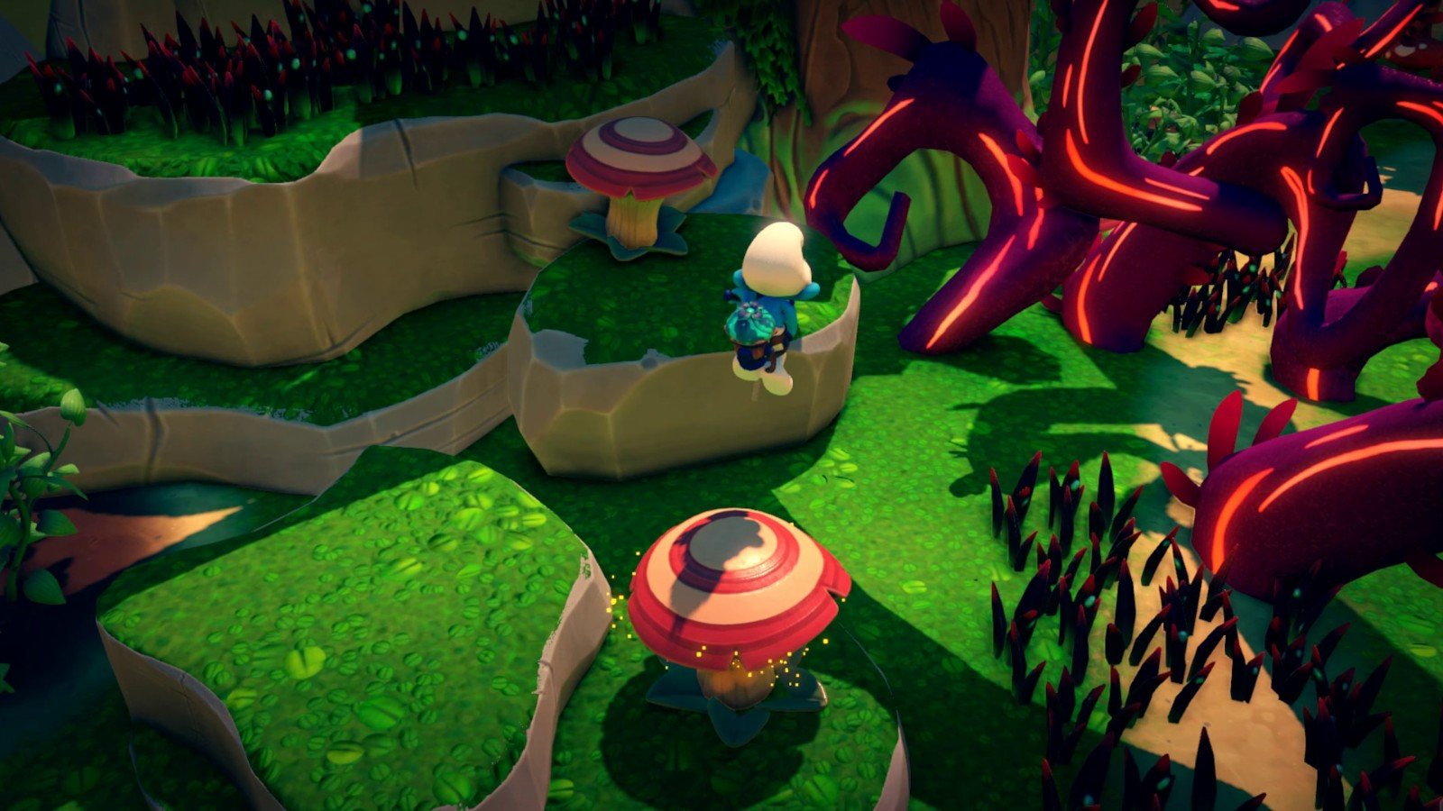3D《蓝精灵》发布首个预告 邪恶的植物维拉夫上线