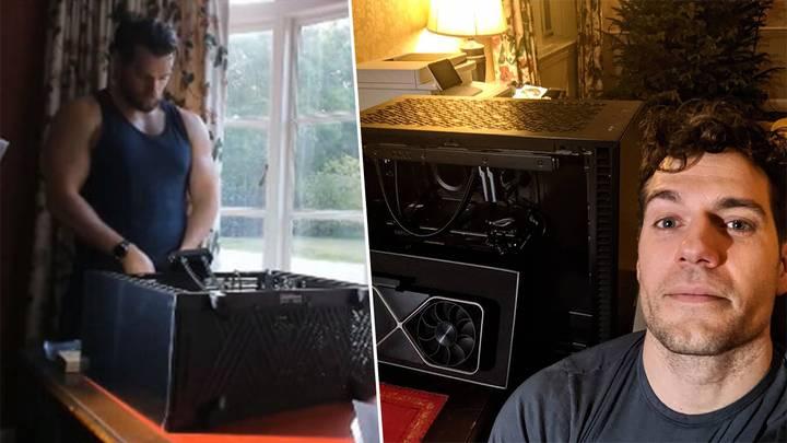 亨利·卡维尔再次暴露宅属性 《巫师》拍摄时大谈《战锤》