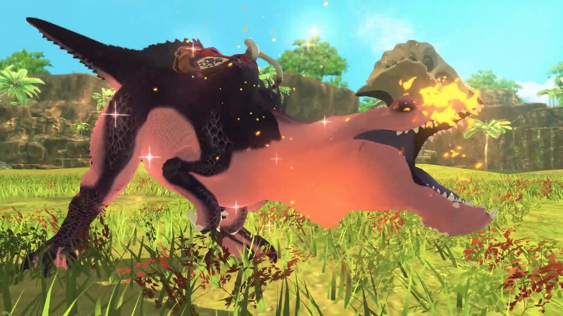 《怪物猎人物语2:毁灭之翼》怪物介绍 喷火的蛮颚龙