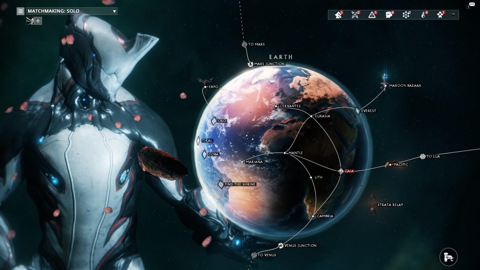 《星际战甲》将能跨平台联机/存档 手机版开发中