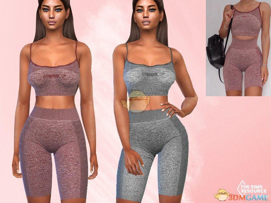 《模拟人生4》女性全套运动服装MOD