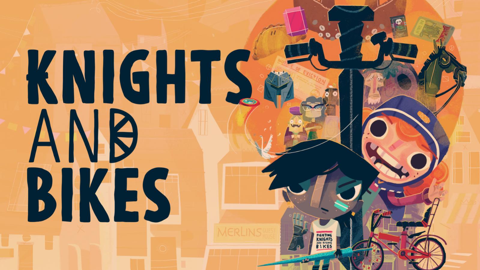 众多奖项入围名作 《骑士与单车KnightsAndBikes》 Steam/Switch/PS4/X