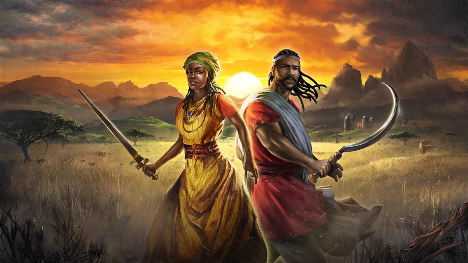 《帝国时代3:决定版》非洲皇室DLC将于8月2日上市