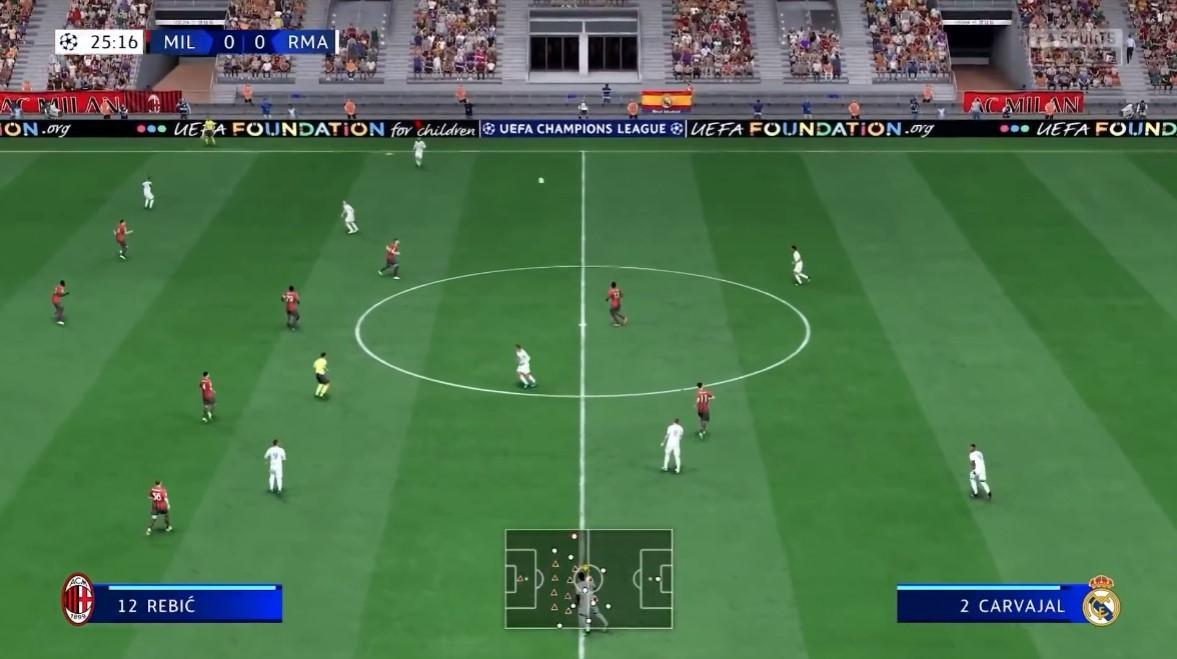 《FIFA 22》PS5版实机演示公布 展示HyperMotion