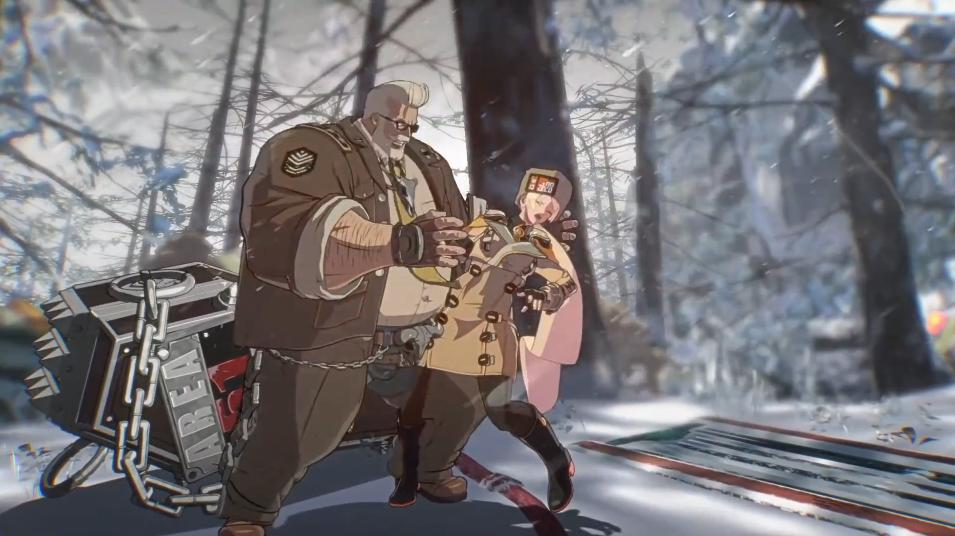 《罪恶装备:斗争》公布DLC角色Goldlewis Dickinson