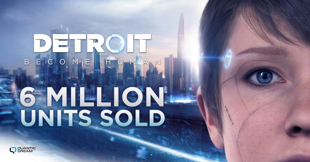 官宣:《底特律:变人》PC和PS4版总销量破600万
