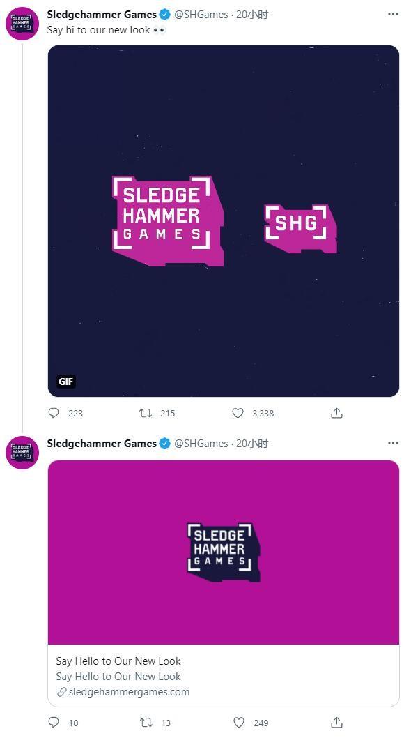 《使命召唤》开发商大锤游戏公布全新Logo