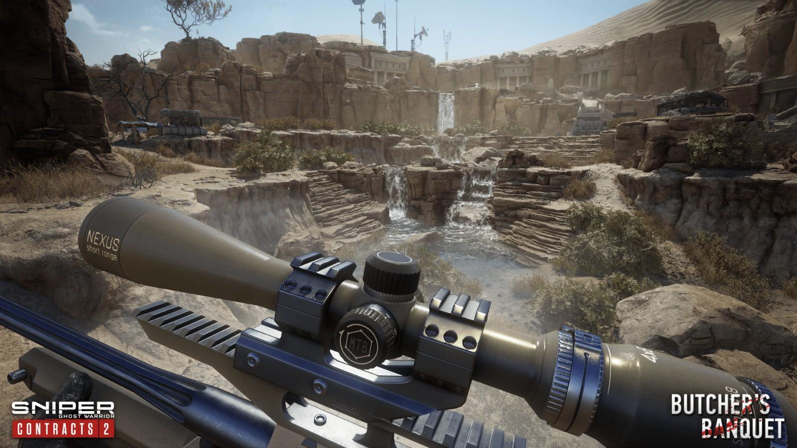 """《狙击手:幽灵战士契约2》免费DLC""""屠夫的盛宴""""上线"""