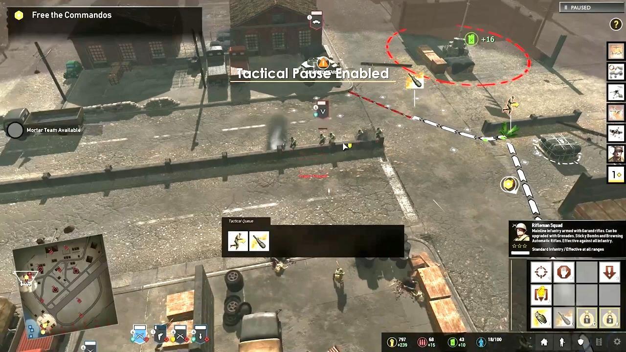 《英雄连3》全新预告片 游戏玩法及动态地图展示