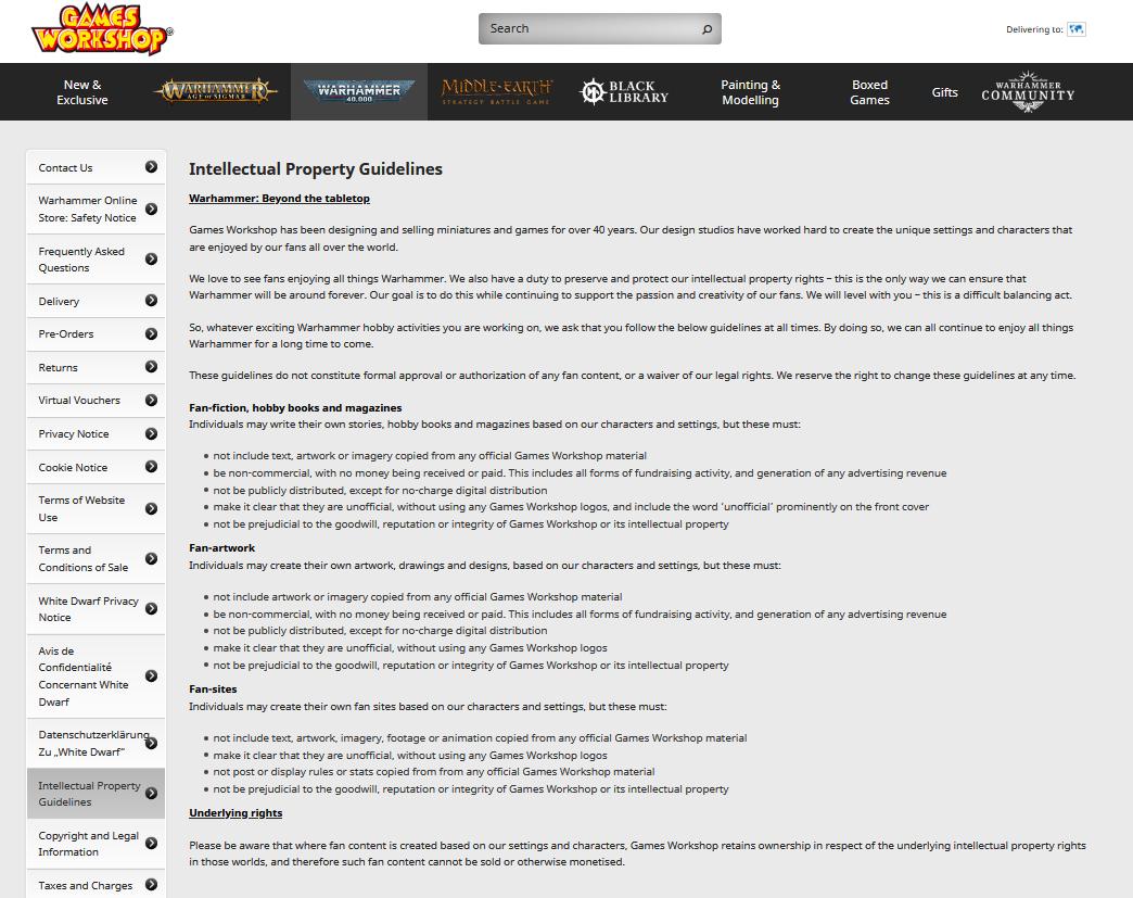 《战锤》系列官方改变IP方针 试图禁止粉丝自制动画