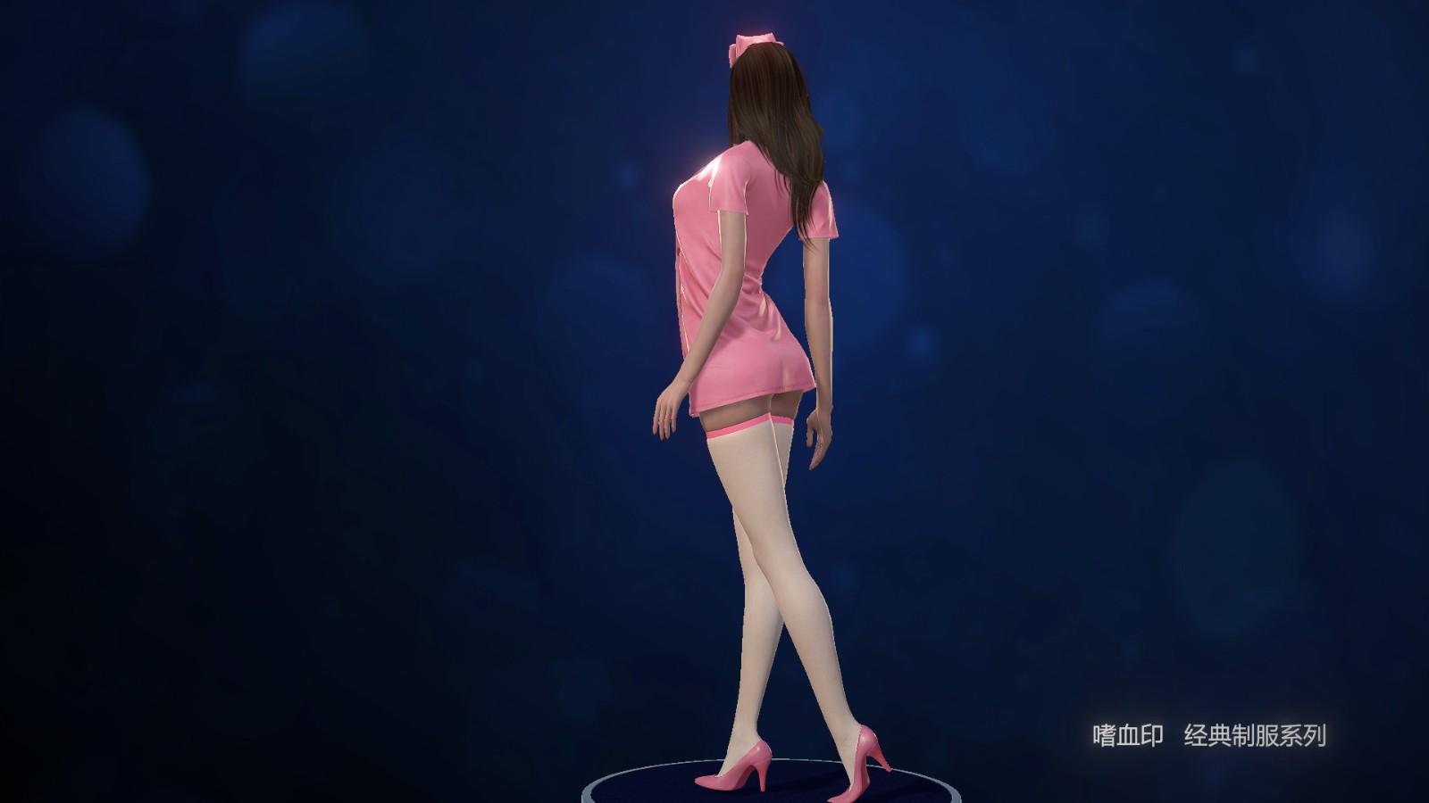 《嗜血印》DLC人气制服系列推出 秘书护士学生装