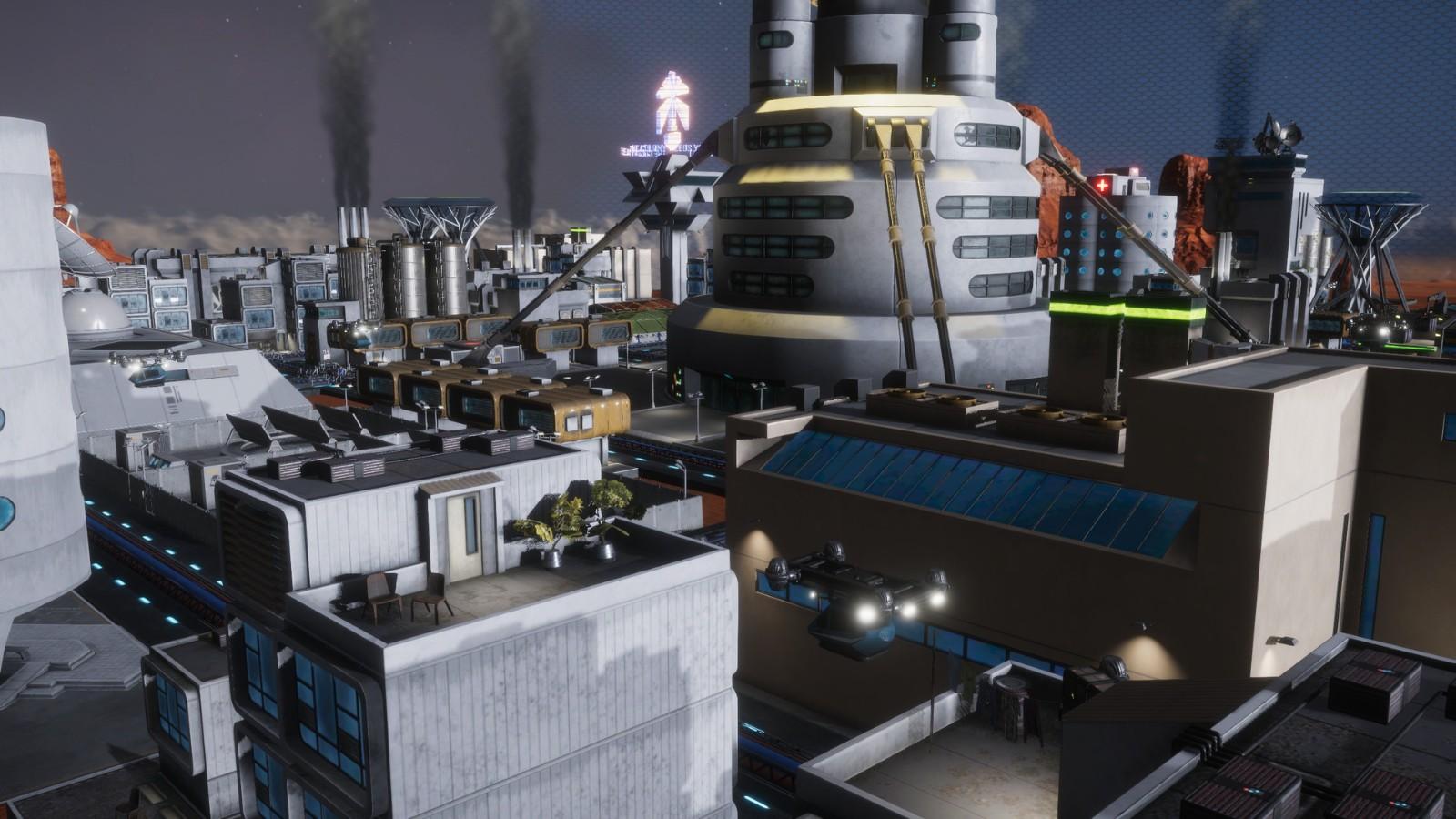 科幻游戏《天球飞升之城》今秋登陆Steam抢先体验