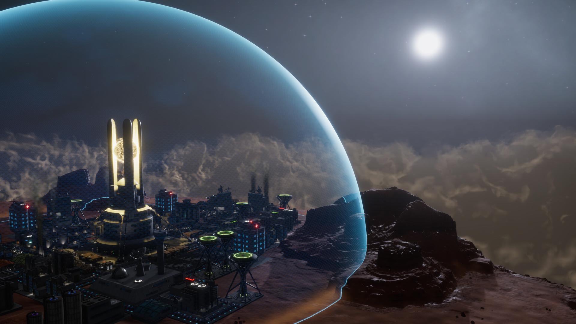 建造反重力飞翔都市《天球-飞升之城》公开