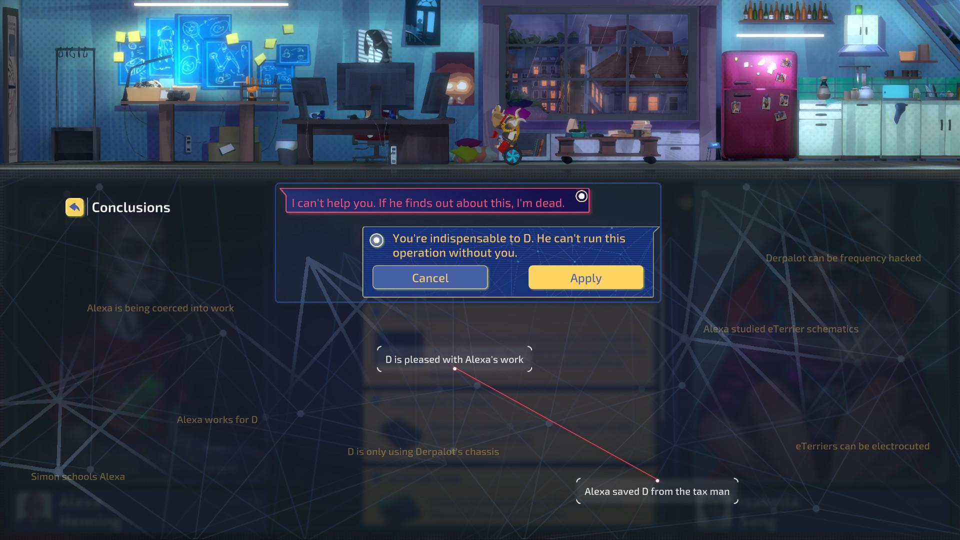 赛博朋克推理游戏《罪城骇客》今日Steam发售 支持简体中文