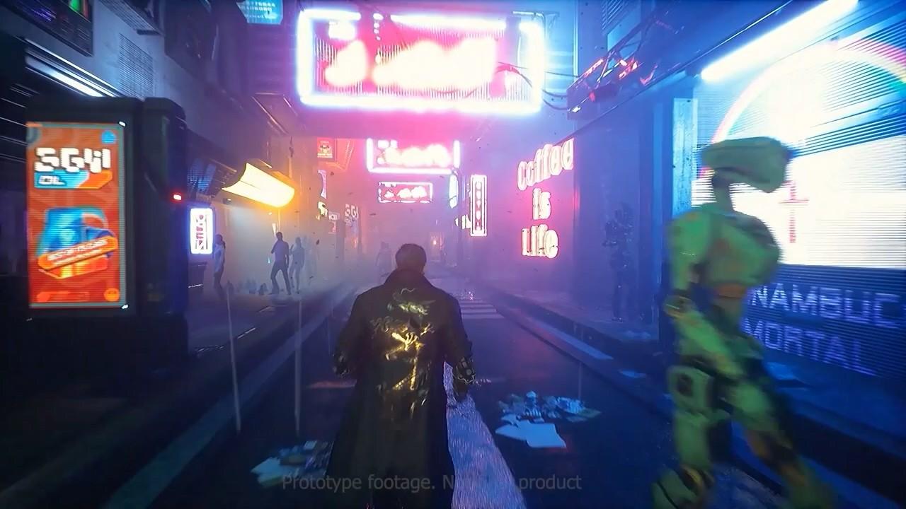 赛博朋克风新作《警戒2099》新宣传片 虚幻4打造
