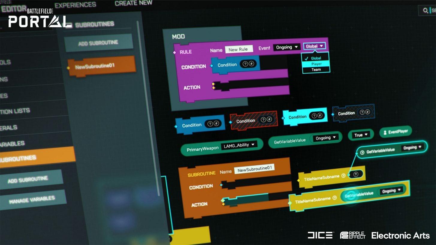 玩家创意平台《战地》门户与《战地2042》同日推出