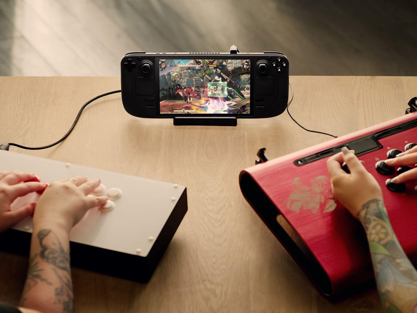 V社:新掌机设计理念与Switch不同 从未做比较