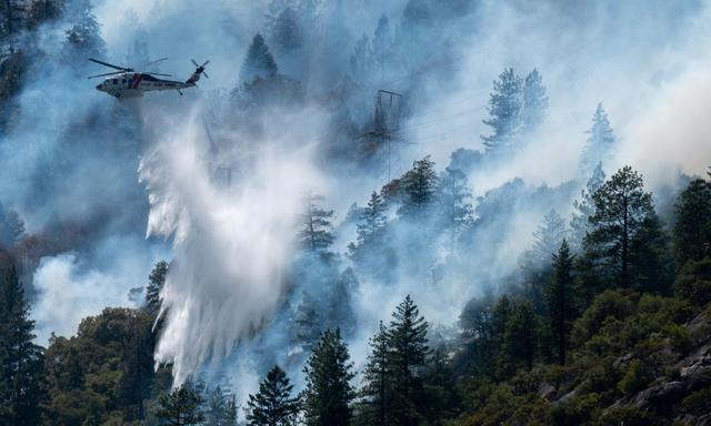 经常引发山火 加州宣布斥巨资将1.6万公里输电线埋入地下