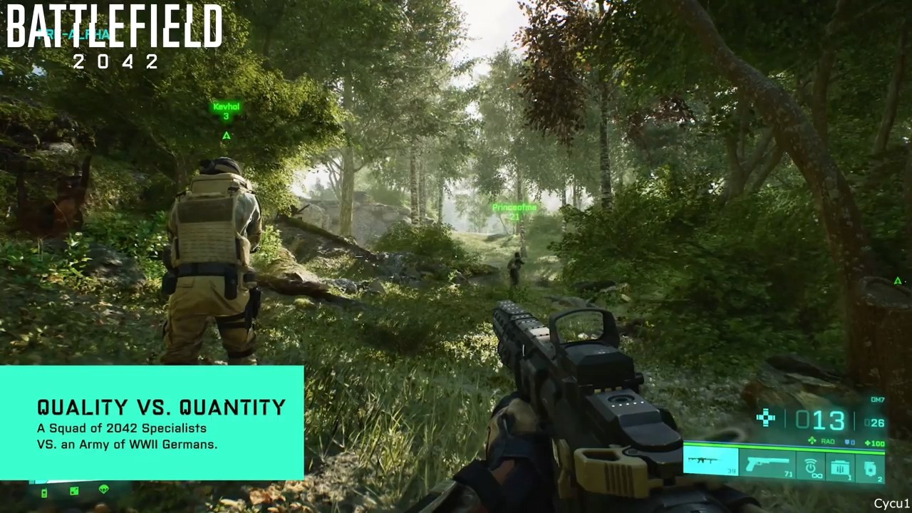 《战地:门户》和《叛逆连队2》《战地3》画面对比