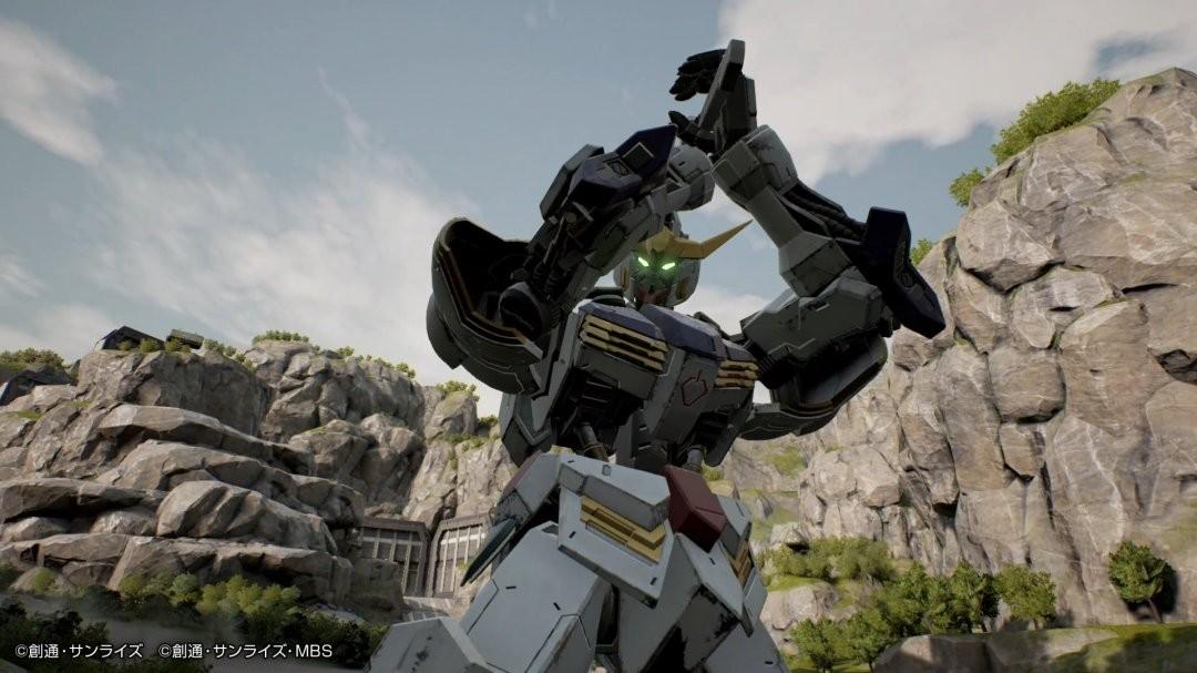 《高达:进化》发布新截图 展示大魔骑兵与倒A高达