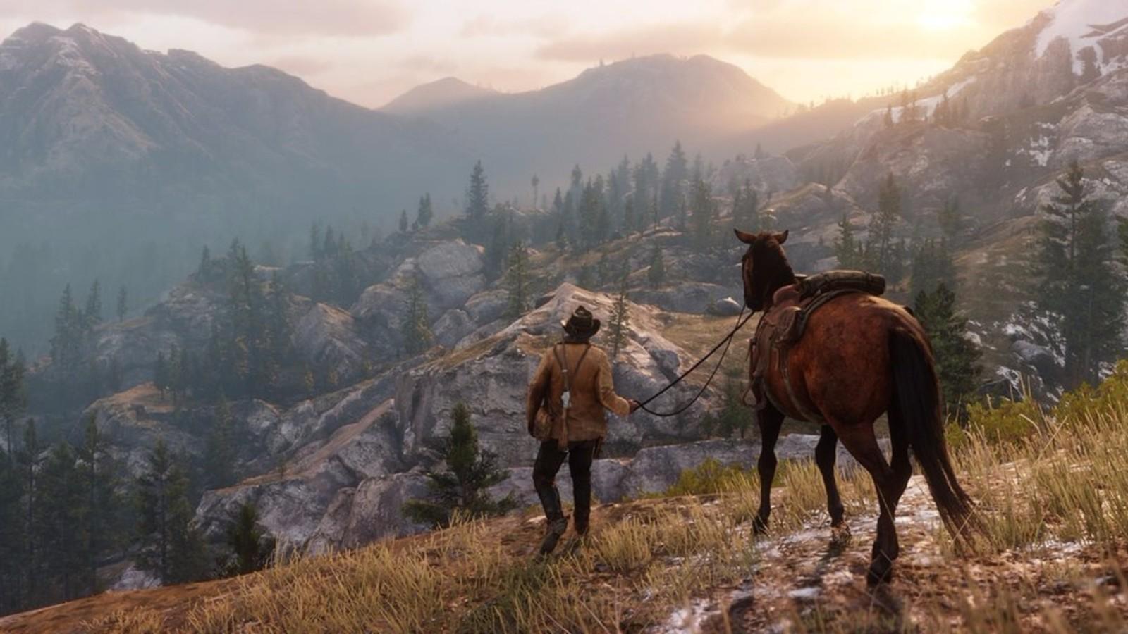 《荒野大镖客OL》血染之财模式上线后 出现奇怪马匹