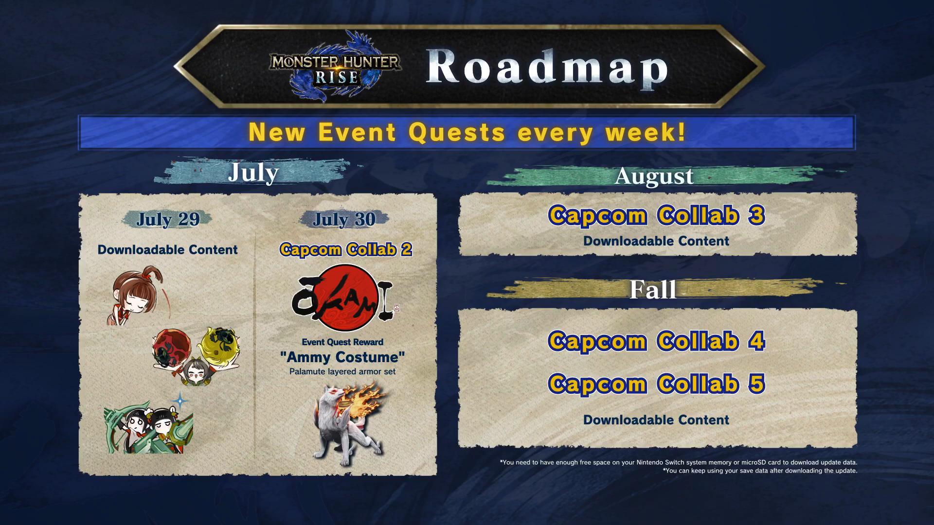 《怪物猎人:崛起》联动《大神》 牙猎犬新装备7月30日上线