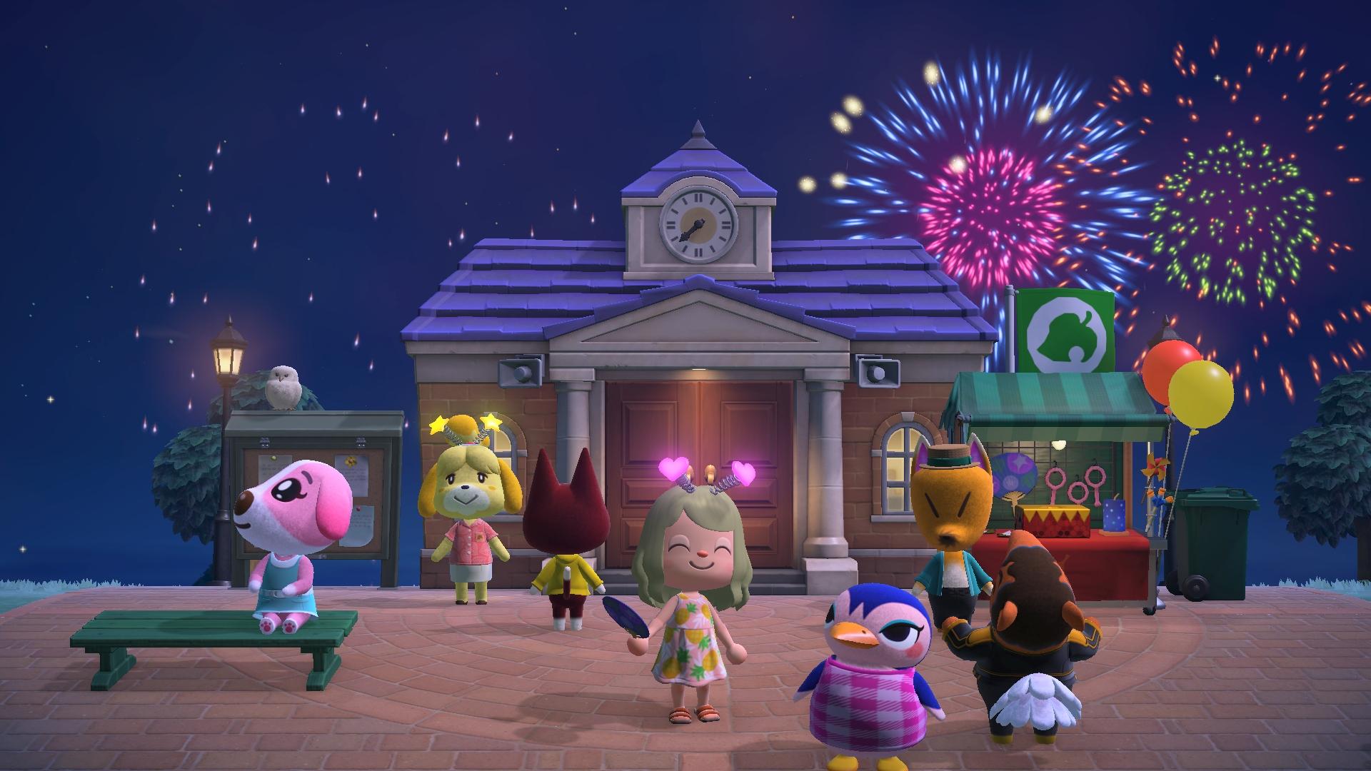 《动物森友会》7月29日推送免费季节更新 更多免费内容开发中