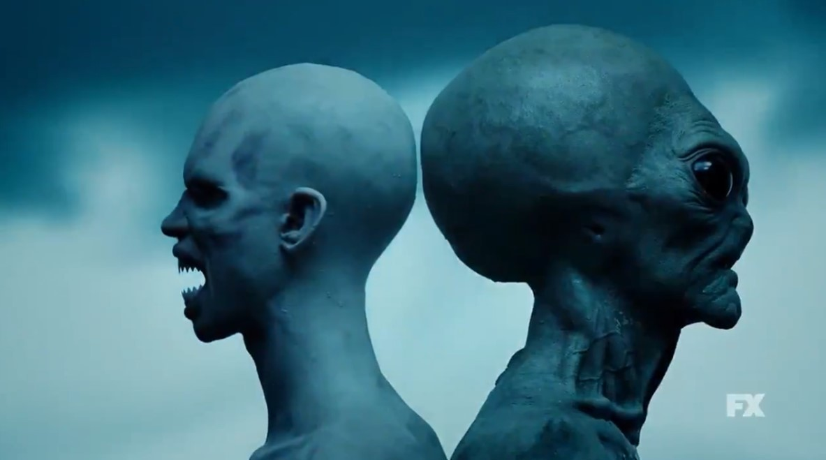 重口慎点!《美国恐怖故事》第10季首曝预告 外星人也来了