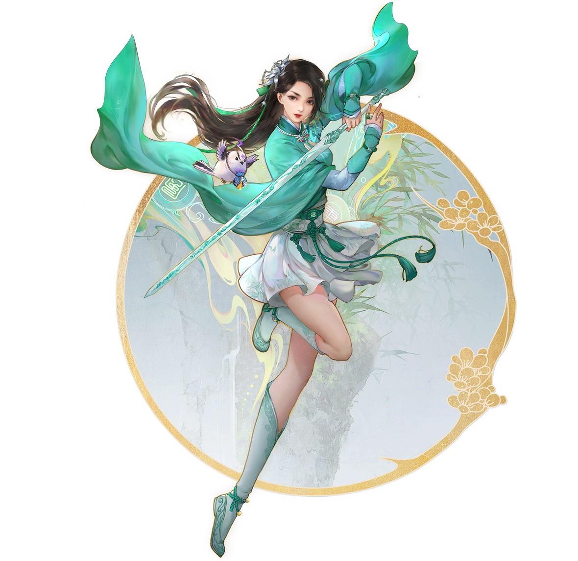 《仙剑奇侠传七》四名主角介绍 帅哥美女亮相