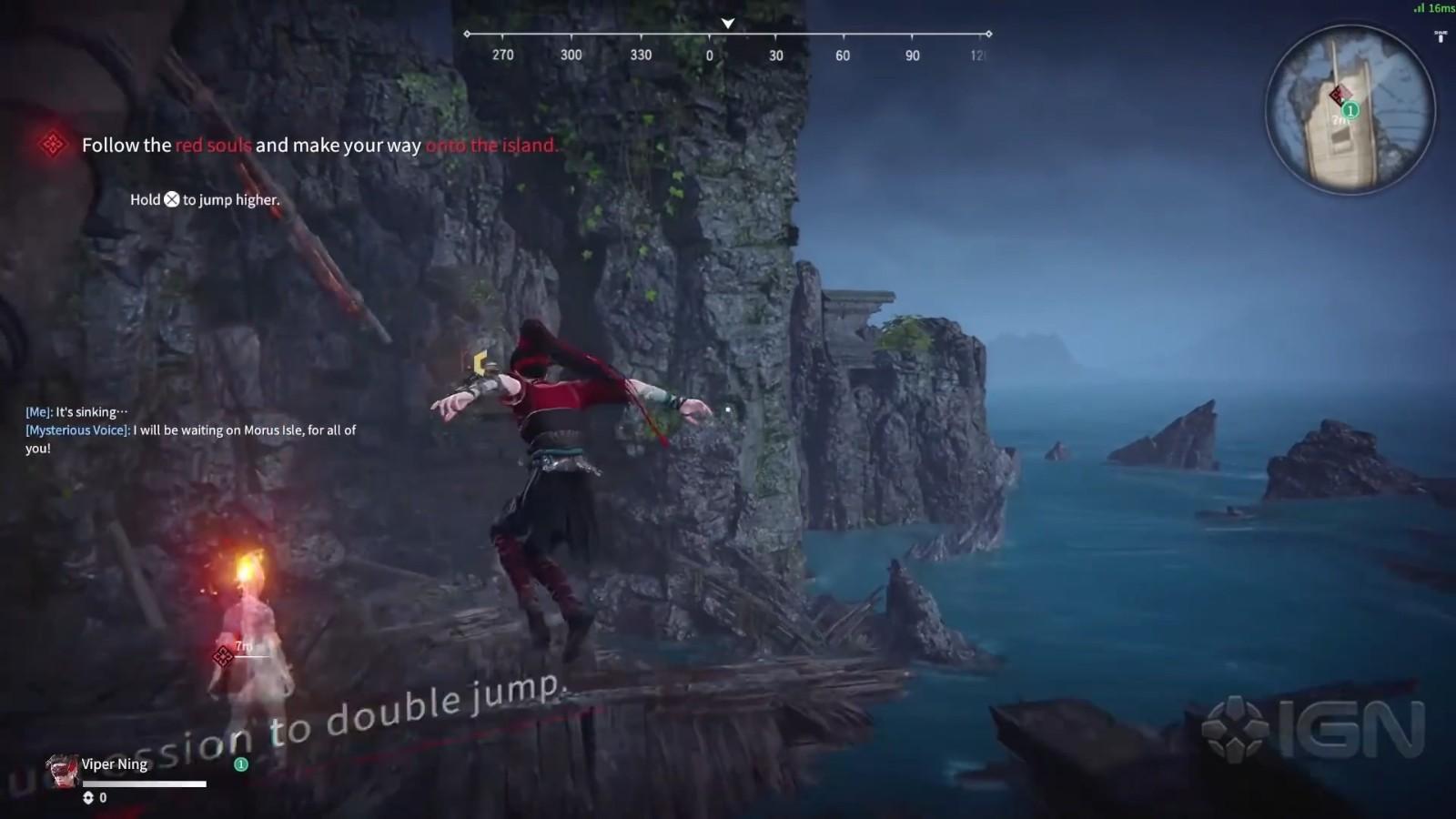 一睹为快:《永劫无间》PS5版实机演示
