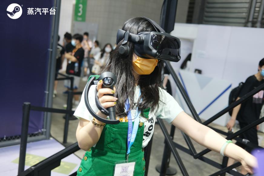 首日蒸汽平台展区曝光 新潮VR惹人眼