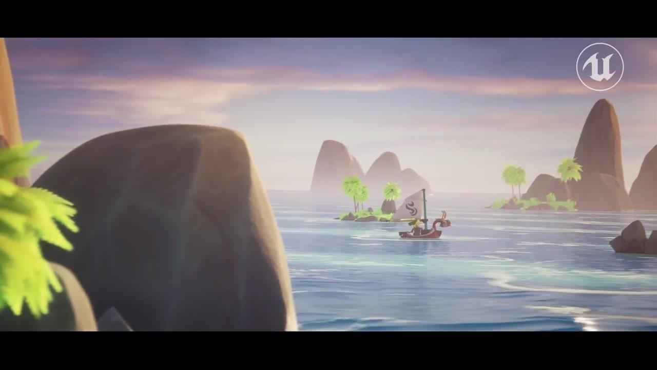 粉絲利用虛幻引擎重製《塞爾達傳說:風之杖》