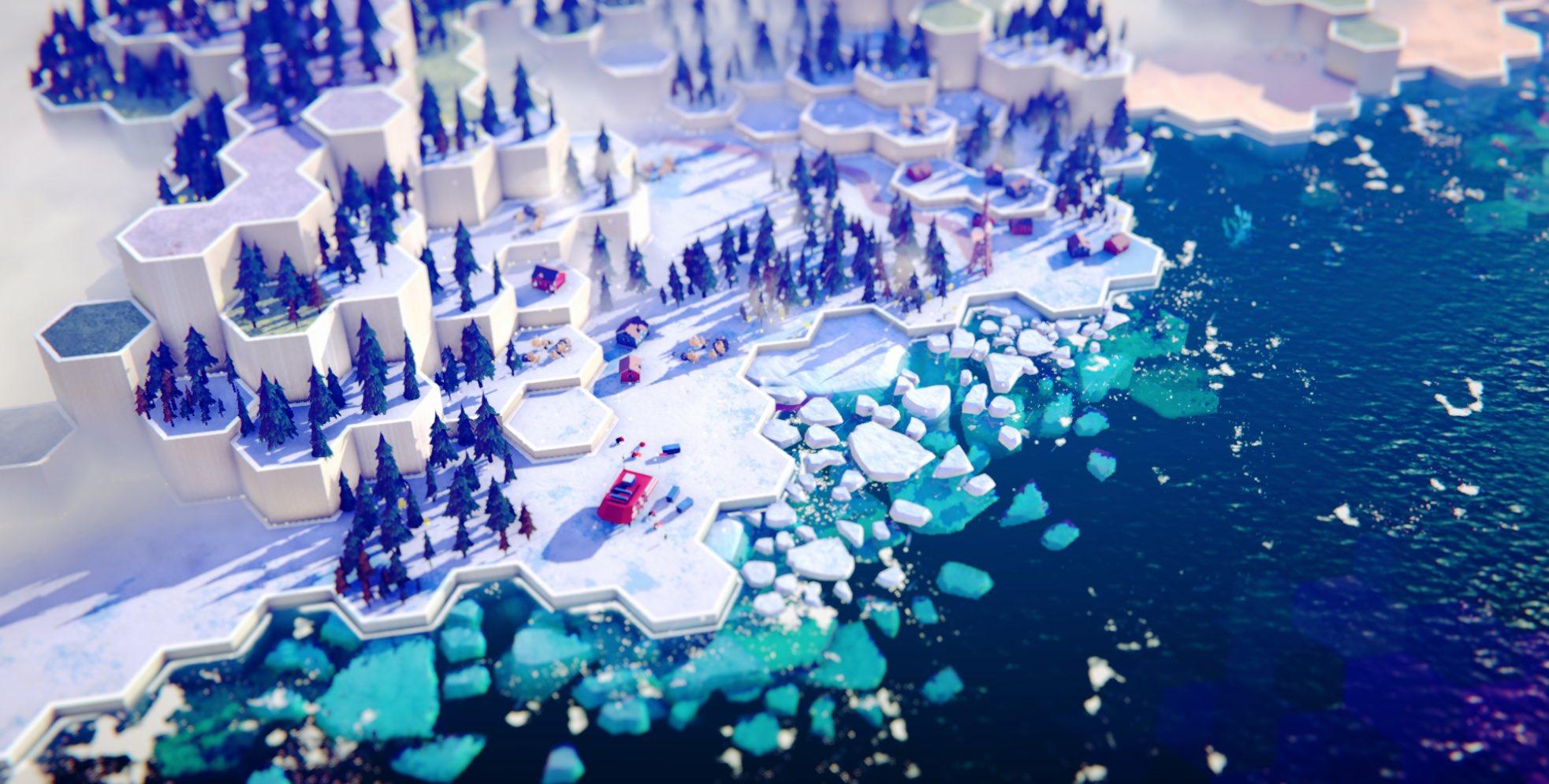 《六边星球》发布最新预告片 正式版预计2022年发售