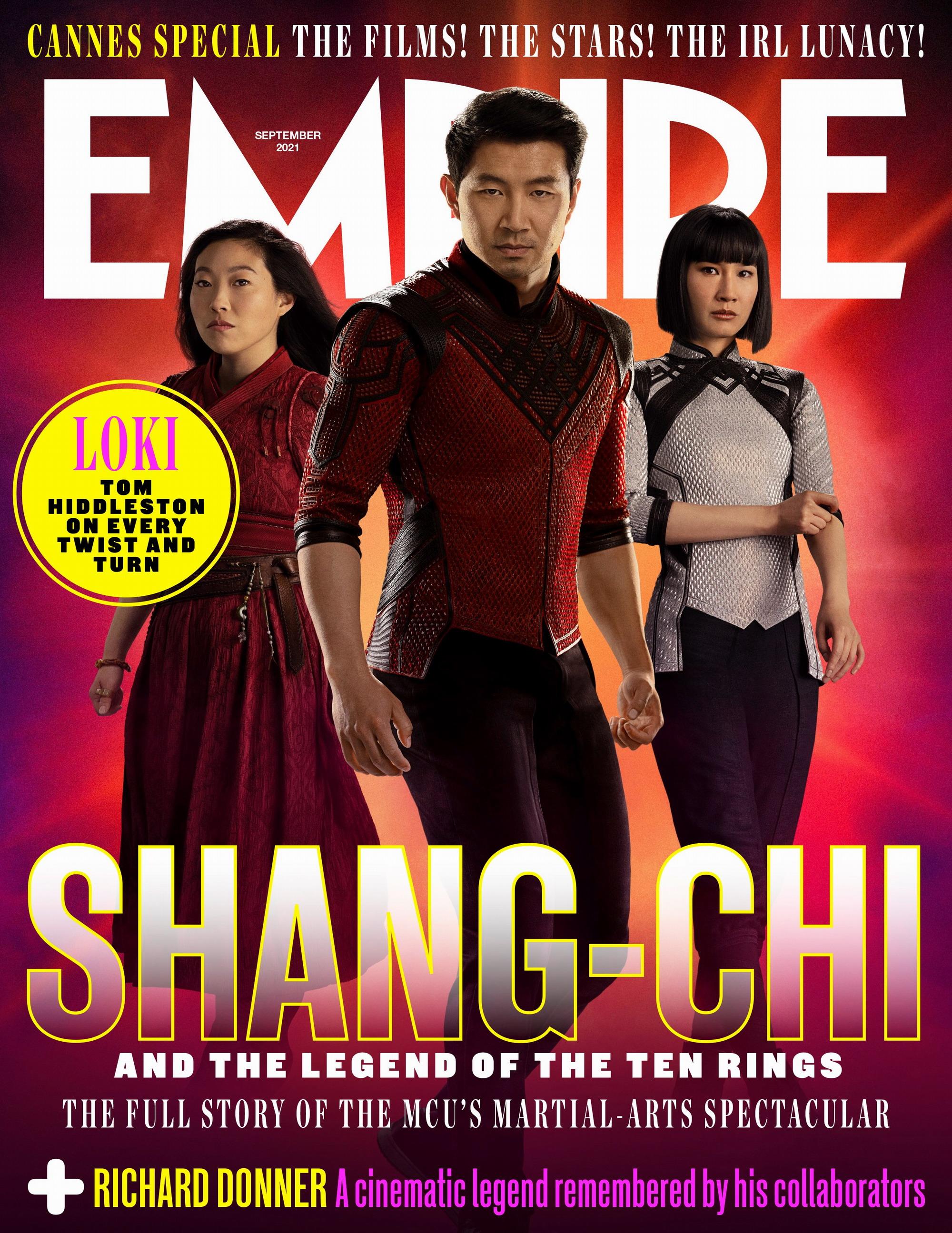 《尚气与十环传奇》杂志封面图 新正式海报发布