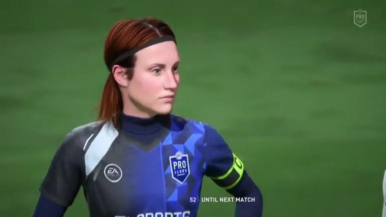《FIFA 22》职业俱乐部模式首次加入创建女球员功能