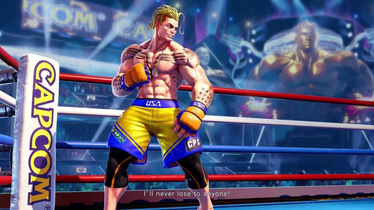 《街头霸王5》宣布最终角色DLC 武术家卢克