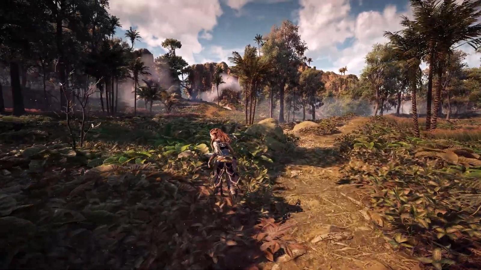 RTX3090运行《地平线:零之曙光》8K演示 在美丽风景中策马奔腾