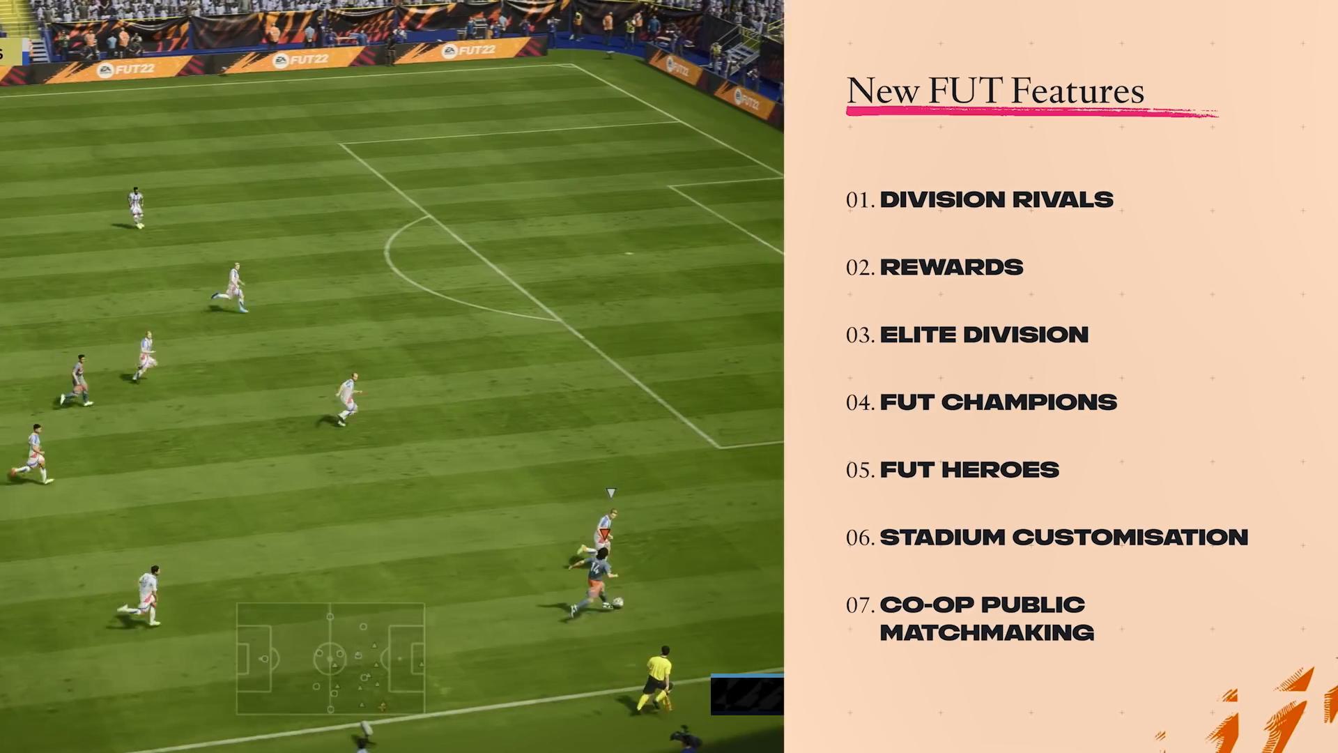 《FIFA 22》Ultimate Team模式宣传片 展示新的机制及奖励