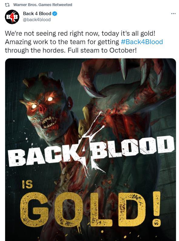 《喋血复仇》进入进场压盘阶段 10月12日正式发售