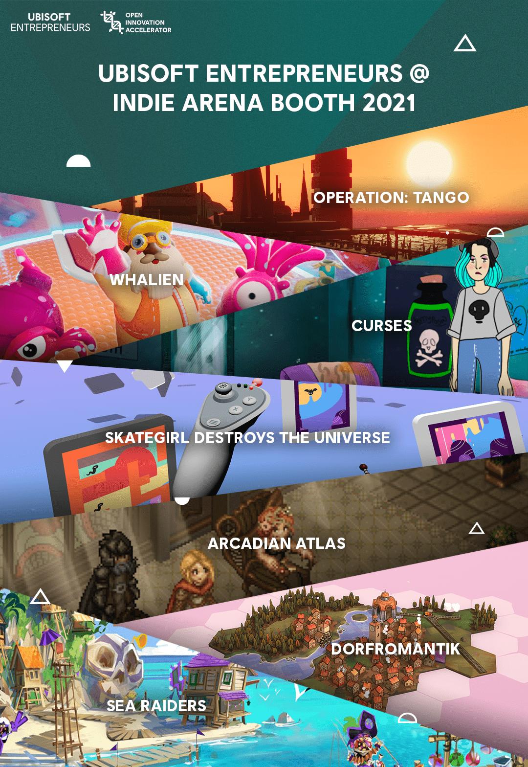 育碧携七家独立游戏工作室亮相2021Gamescom独立游戏展会