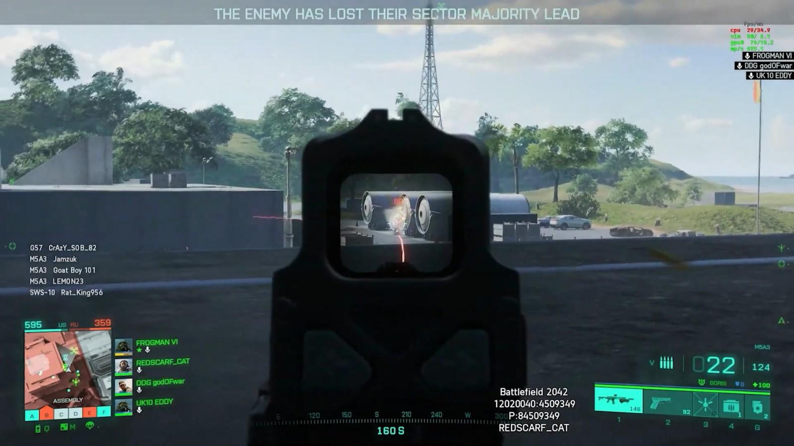 《战地2042》Alpha封测最新5分钟演示