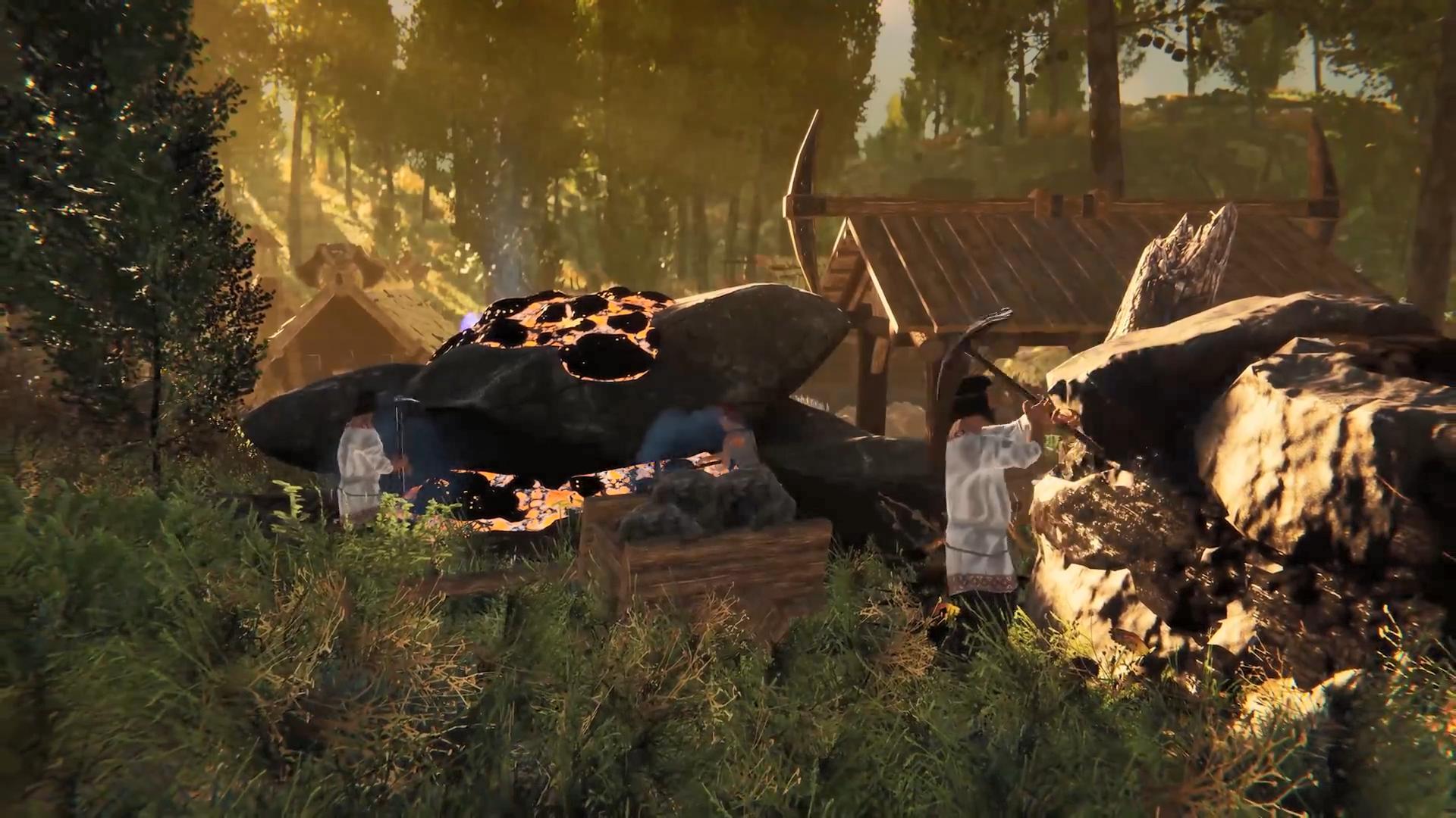 生存建造游戏《暗夜降临》新官方宣传片 2022年发售