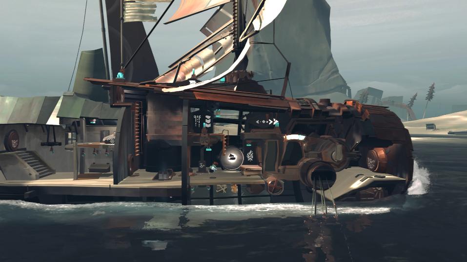 末日潜艇航行《远方:变潮》科隆展功能展示宣传片