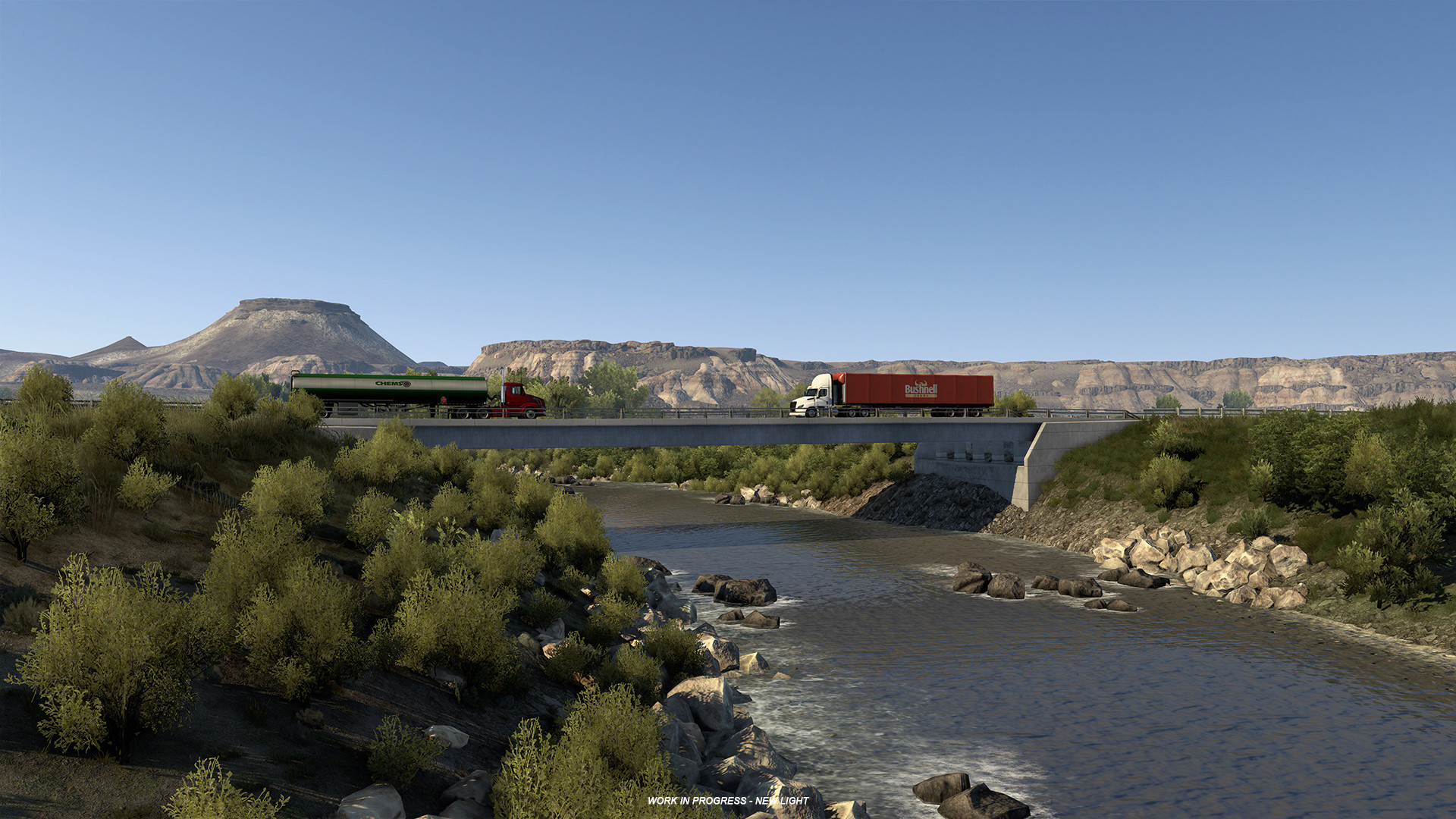 《美国卡车模拟》新DLC怀俄明预告上线 9月7日正式解锁