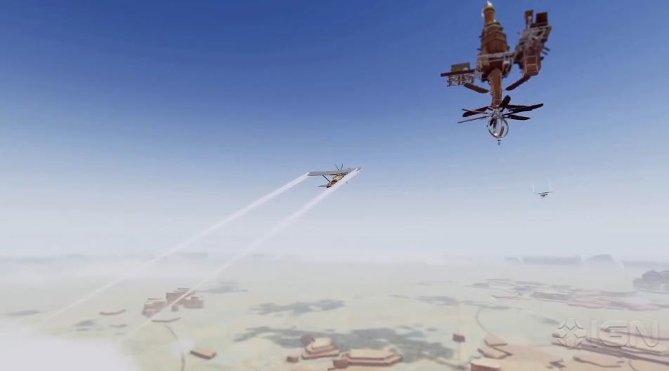 建造游戏《空中王国》最新宣传片 11月9日登陆主机