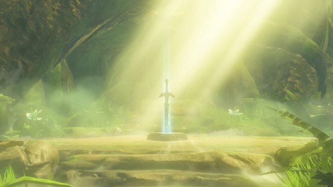 玩家打造《旷野之息》大师之剑树脂模型 成品效果逼真与原作几无差别